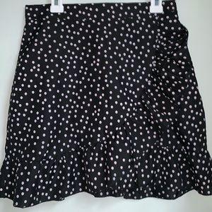 PLT Polka dot ruffle  skirt